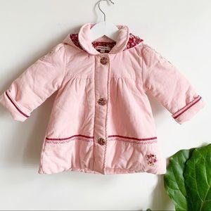 Kenzo Kids Baby Girl Pastel Pink Cotton 6M